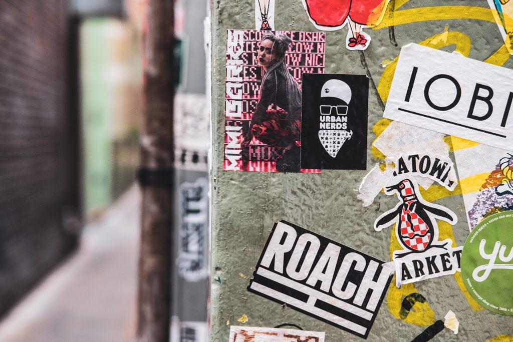 Assorted vinyl sticker